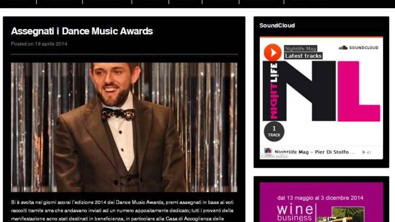 Assegnati i Dance Music Awards