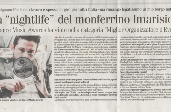 "La ""nightlife"" del monferrino Imarisio"