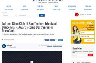 La Luna Glam Club di San Teodoro trionfa al Dance Music Awards come Best Summer DiscoClub